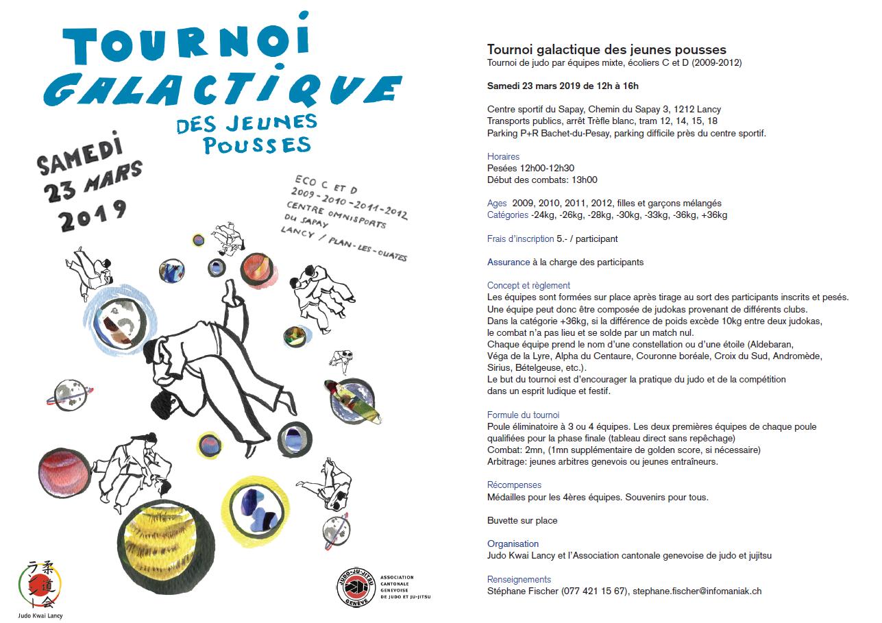 Tournoi Galactique des jeunes pousses @ Centre Sportif Le Sapay