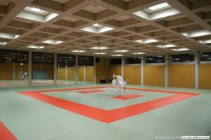 La salle de Judo - vue principale
