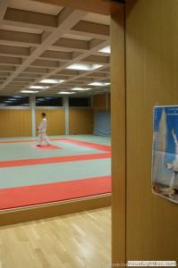 Entrée de la salle de Judo : Entrée de la salle de Judo