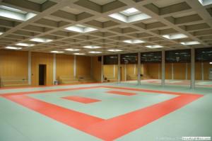 Le tatami de la salle de Judo